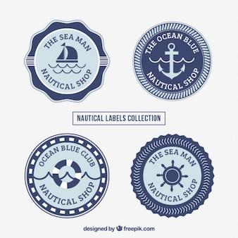 Coleção de etiqueta salor