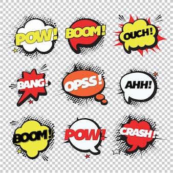 Coleção de expressões cómicas