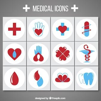 Coleção de ícone médica