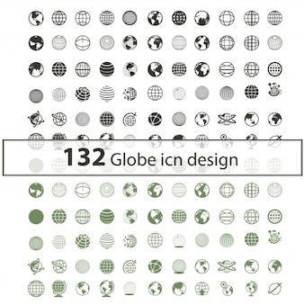 Coleção de ícones Globe