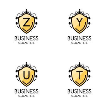 Coleção de logo de negócios