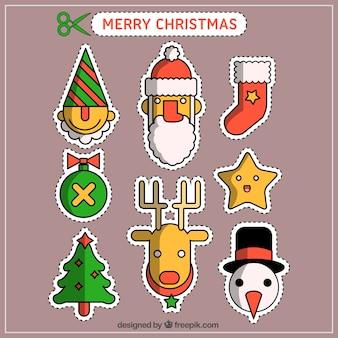 Coleção de patches de natal
