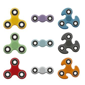 Coleção de spinner Fidget