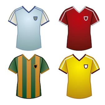 Coleção de t-shirt esportiva