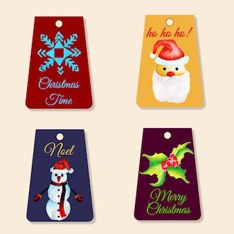 Coleção de Tags de Natal