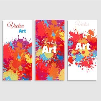 Coleção do cartaz da arte