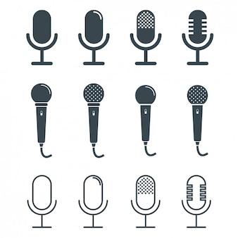 Coleção do projeto microfones