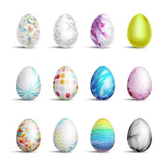 Coleção dos ovos de Páscoa