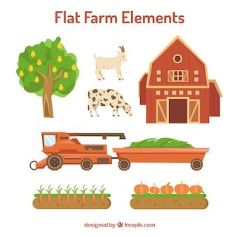coleção elemento agrícola essencial