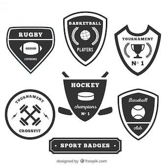 Coleção emblemas desportivos
