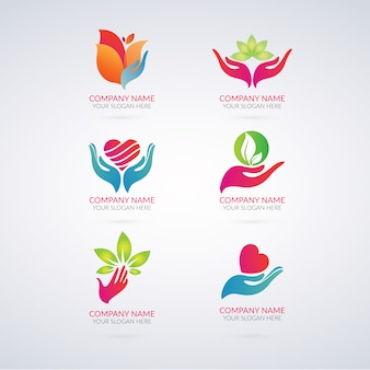 Coleção logotipos Eco