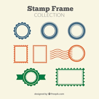 Coleção selo quadros
