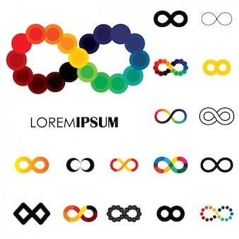 Coleção símbolos infinitos