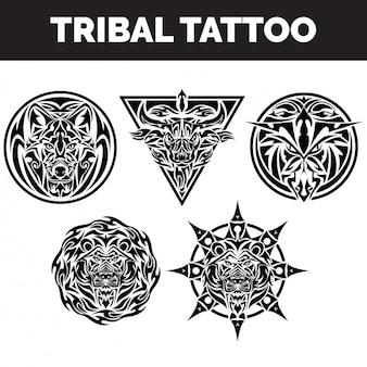 Coleção tatuagens tribais