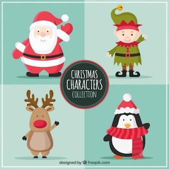 Coleção Personagens de Natal