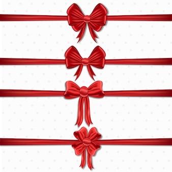 Coleta de fitas vermelhas