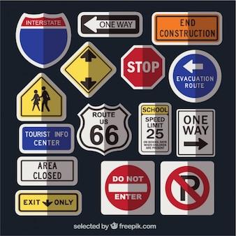 Coleta os sinais de trânsito
