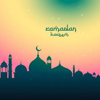 colorido do festival Ramadan Kareem