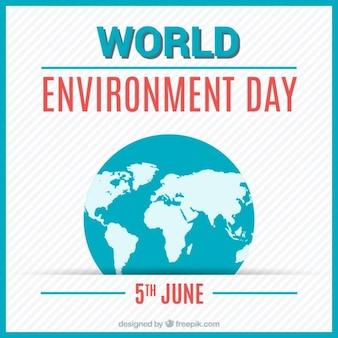 Colorido Fundo do dia do ambiente