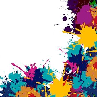 Colorido, sujo, fundo
