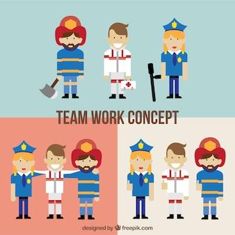 Conceito da equipe de trabalho