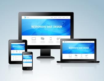 Conceito de design responsivo