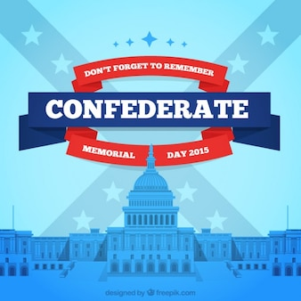 Confederate Memorial Day fundo