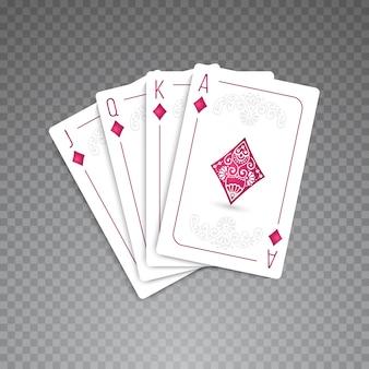 Conjunto completo de cartões