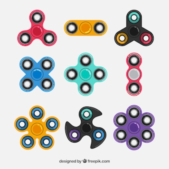 Conjunto de brinquedos para o estresse