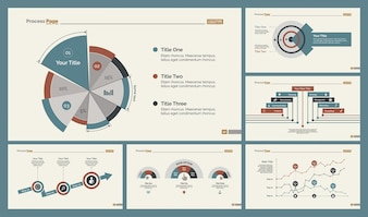 Conjunto de modelos de slide Six Analytics