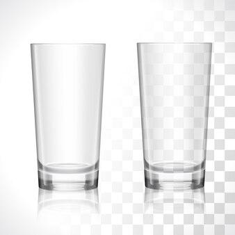 Conjunto de óculos vazios