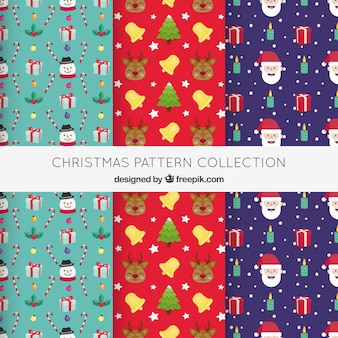 Conjunto de padrões de Natal