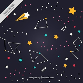 Constelações fundo