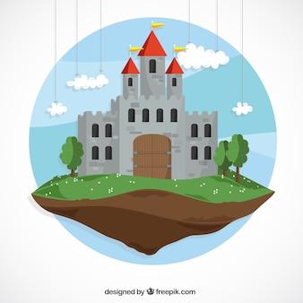 Conto de fadas castelo