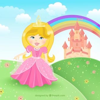 Conto de fadas da princesa
