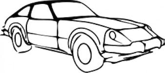 contorno do carro modificado