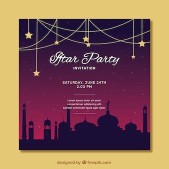 Convite do partido de Iftar