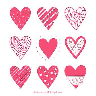 Coração Icon Set