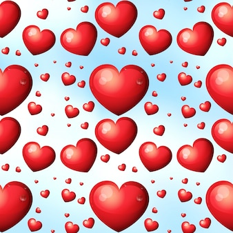 Corações sem costura