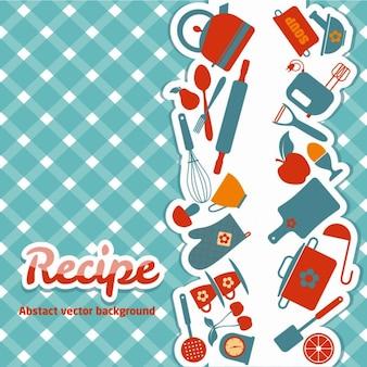 Pano de prato vetores e fotos baixar gratis for Utensilios de cocina fondo
