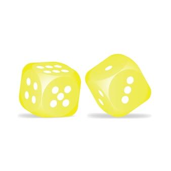 Dados amarelos
