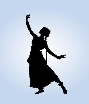 Dança indiana Pose