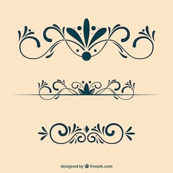 Decoração ornamental