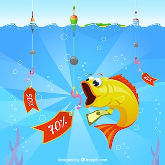 Descontos de pesca