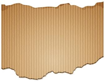Desenho de fundo com papel de papelão marrom