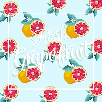 Desenho vetorial de frutas