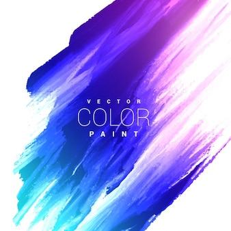 Design brilhante colorido tinta mancha