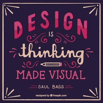 Design citações