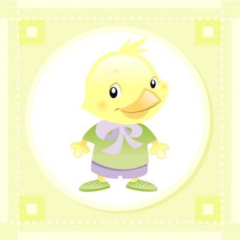 Design da galinha do bebê