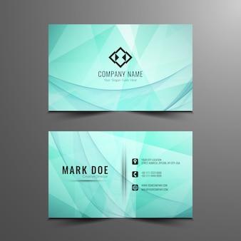 Design de cartão à moda moderno